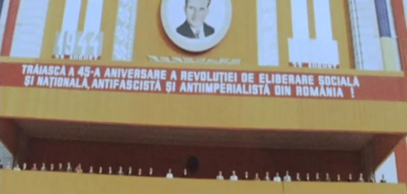 ceausescu ultima defilare 23 august