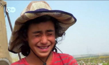 Copii exploatați în industria textilă din Turcia. Pentru 20 de kilograme de bumbac recoltat pe zi, o fetiță de 10 ani primeste 1,6 euro