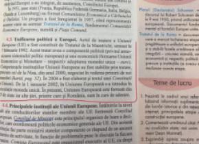 În 2021, elevii de liceu învață la Istorie că România NU este în Uniunea Europeană