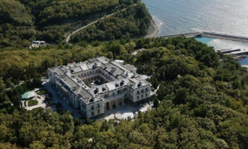 FSB susține că apără palatul de 1 miliard de euro al lui Putin de spionaj NATO