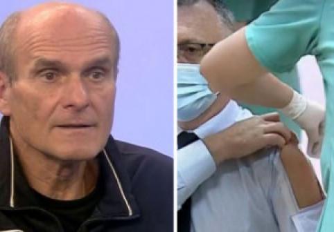 CTP despre cămașa lui Cîmpeanu la vaccinare: Costumația dlui ministru este echivalentă cu Elena Ceaușescu jucând volei în papuci cu toc