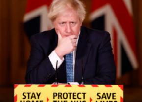 Experții britanici, luați prin surprindere de afirmația lui Boris Johnson că noua tulpină de coronavirus ar fi mai letală