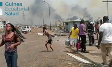 VIDEO. Catastrofă de proporții. Haos și cartiere întregi spulberate, după explozii într-o unitate militară