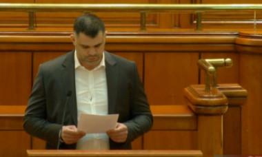 Daniel Ghiță, greu încercat de noul său rol de parlamentar. Un discurs citit în Parlament face deliciul internetului - VIDEO