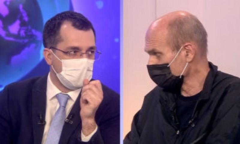 """CTP, polemică în direct cu Vlad Voiculescu la Digi24: """"Ați inundat casa, ca să nu ia foc!"""" - VIDEO"""