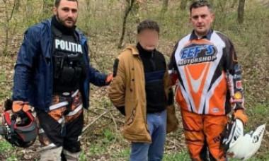 Cum a fost prins, de fapt, un suspect de crimă, în Alba. După ce l-a înjunghiat pe amantul iubitei s-a ascuns în munți