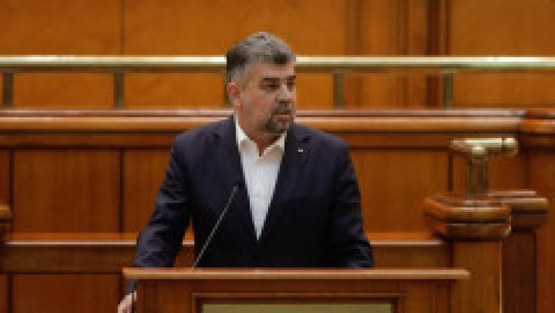 Ciolacu: Fac apel la şefii de partide să găsim o soluţie de a scoate România din criză. În al 12-lea ceas, fiți bărbaţi de stat!