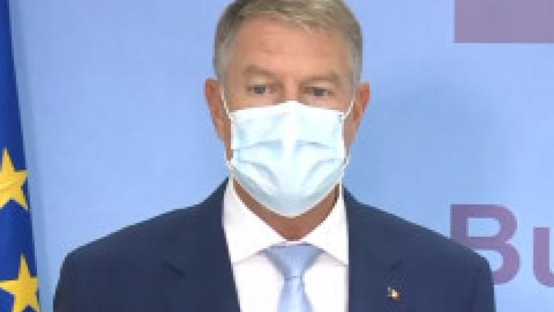 """Klaus Iohannis, despre campania de vaccinare din România: """"Avem arma cu care putem să terminăm pandemia, dar n-o folosim"""""""