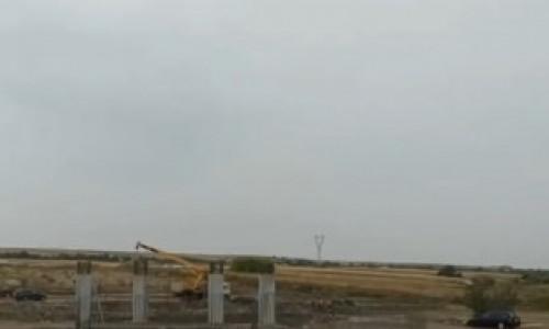 VIDEO. Cum arată tronsonul 1 al Drumului Expres Craiova – Pitești: lucrări pe câmp cât vezi cu ochii