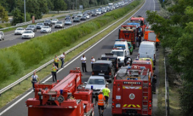 Microbuz românesc implicat într-un accident grav, soldat cu 5 morți, în Ungaria