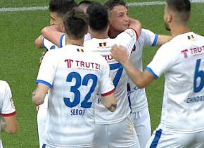 FCSB - FC Botoșani 1-1. Încă un pas greșit al gazdelor, într-un meci nebun, cu supergoluri și două eliminări