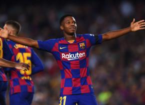 Ansu Fati, o nouă performanță, la 17 ani! Și-a asigurat locul în istoria Barcelonei, după golul marcat cu Villarreal
