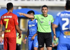 Feşnic, arbitrul de la FCSB-Dinamo, s-a recuzat de la FCSB-CFR Cluj ca să nu se speculeze