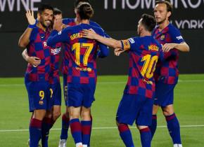 Messi, Suarez și Griezmann au retrogradat-o pe rivala Espanyol, după 27 de ani! Tripleta MSG, letală în fața porții