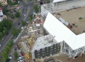 Stadionul Arcul de Triumf, transformare spectaculoasă. Cum arată acum arena. E prima care va fi gata