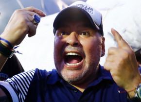 """Diego Maradona are un preferat în tenisul mondial. """"Mă bucur de fiecare dată când mă susține"""""""