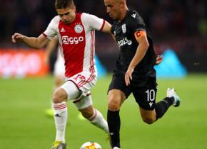 """Răzvan Marin, gata de un nou început la Ajax. A jucat o repriză în primul meci al """"lăncierilor"""" după 5 luni"""