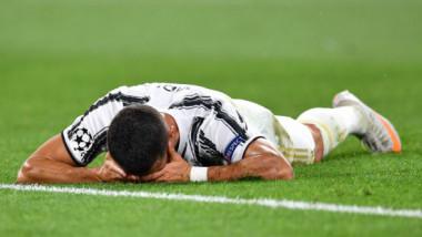 Devastat, Cristiano Ronaldo a cedat nervos. Cum a fost surprins, după ce Juve a fost eliminată din Champions League