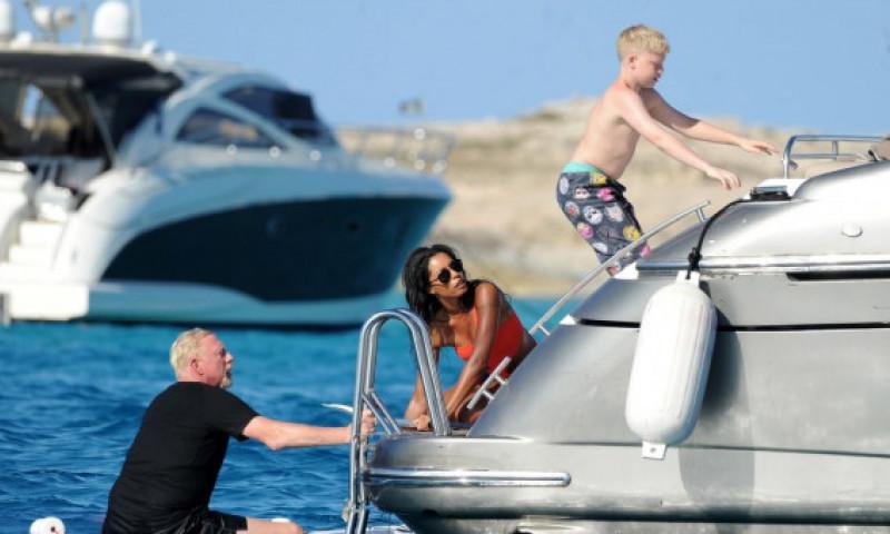 """""""Stai departe de copilul meu!"""" Imaginile care au stârnit furia soției lui Boris Becker: """"Există reguli nescrise între femei"""""""