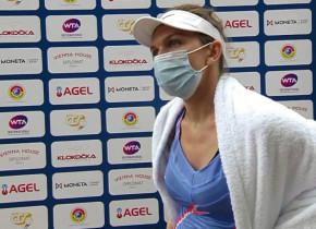 Ce a spus Simona Halep după victoria cu Polona Hercog, meci în care a ratat 7 mingi de meci