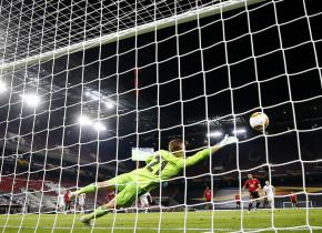 """Manchester United - FC Copenhaga 1-0. """"Diavolii"""" au înscris din penalty în prelungiri și sunt în semifinalele Europa League"""