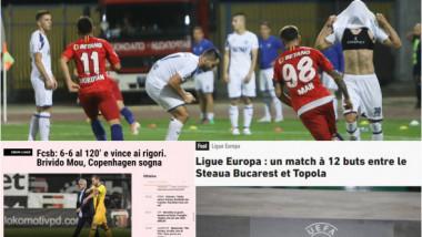 """Gata? Deloc!"" Marile ziare ale lumii, fascinate de ""nebunia"" FCSB în Serbia. Ce au scris L'Equipe și Gazzetta dello Sport"