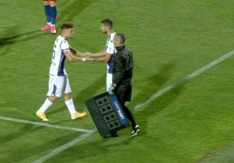 O nouă etapă, o nouă umilință. Ce jucător a fost schimbat după 68 de secunde în FCSB - FC Argeș