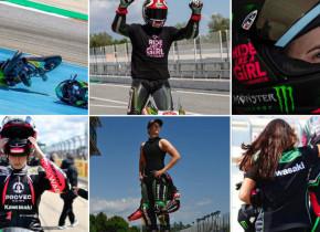 Greu de privit. Prima campioană mondială la motociclism arată lumii cicatricile după accidentul suferit la coloană