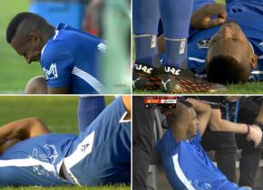 Eric s-a accidentat în meciul cu Sepsi! Mijlocașul brazilian, aproape să izbucnească în plâns pe banca de rezerve