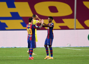 Barcelona a refuzat 150 de milioane de euro pentru Ansu Fati, dar nu-i poate prelungi contractul. Puştiul, ademenit cu bani mulţi