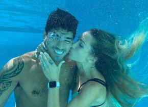 Soția lui Suarez, în al nouălea cer după debutul lui Luis la Atletico Madrid. Ce a postat pe Instagram