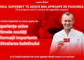 (P) Cu fiecare leu te apropii de un SuperPremiu! Fă-ți propriul card Superbet și înscrie-te în promoție!