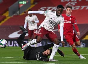 Liverpool - Arsenal 0-0, ACUM, pe Digi Sport 2. Meci tare în Cupa Ligii Angliei