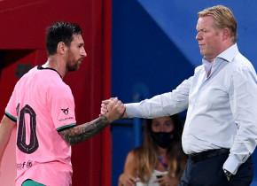 Ce spune Koeman despre Messi, după ce argentinianul a înscris un singur gol în 4 meciuri