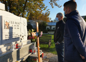 Doi ani de la dispariția prematură a legendarului Ilie Balaci. Omagiu adus de Sorin Cîrțu și Alexandru Mateiu