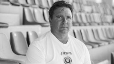 Florin Bugar, antrenorul naţionalei feminine U19, a pierdut lupta cu COVID-19 la 14 zile de la infectare