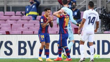 Reacție agresivă a unui oficial al Barcelonei la adresa arbitrului din El Clasico