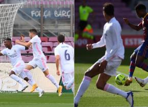 180 de secunde furtunoase în El Clasico: Real a marcat prima, Barcelona a revenit și Ansu Fati e din nou omul-record