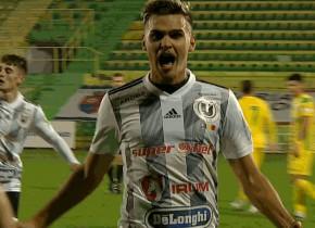 CS Mioveni - Universitatea Cluj 0-1. Negrean aduce trei puncte pentru ardeleni cu o execuție superbă