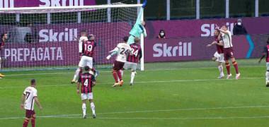 VIDEO Tătărușanu, gafă uriașă la debutul pentru AC Milan! Roma a înscris după eroarea sa