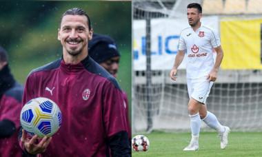 """Poveste superbă cu """"Zlatan Ibrahimovic al României"""" care joacă în Liga 1! """"Singura comparație? Amândoi am făcut asta!"""""""