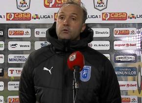 Explicațiile lui Papură, după al cincilea egal consecutiv al Craiovei în Liga 1