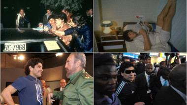 Viața lui Diego Maradona în 30 de imagini unice, de la copilăria sărăcăcioasă în Argentina până la apogeul unei legende