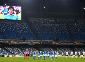 Napoli - Rijeka 2-0 | Ziua în care fanii au pus meciul pe plan secund. L-au plâns pe Maradona
