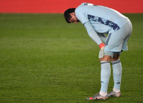 """Gafă monumentală a lui Thibaut Courtois! Belgianul """"a îngropat-o"""" pe Real Madrid în duelul cu Alaves"""