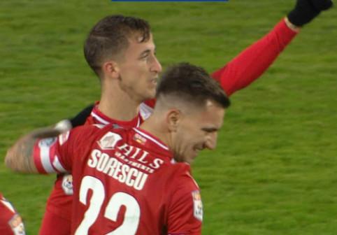 VIDEO Juan Camara, gol fabulos în FC Argeș - Dinamo! Spaniolul a marcat de la centrul terenului, de la 50 de metri