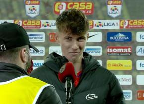 """Octavian Popescu, interviu """"ca la Cojasca"""". Excelează pe teren, dar """"șchioapătă"""" la microfon: """"Sunt tehnic, ce să mai zic!"""""""
