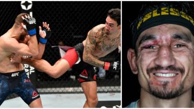 """""""Măcel"""" în UFC. Un sportiv a încasat 445 de lovituri, câte una la fiecare 3 secunde, însă arbitrul nu a oprit lupta"""
