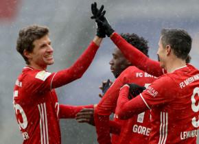 Bayern - Freiburg 2-1. Bavarezii se distanțează în fruntea clasamentului