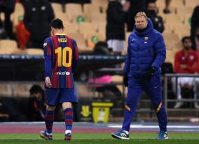 Leo Messi, eliminat pentru prima dată în tricoul Barcelonei! Câte etape de suspendare riscă după ce a lovit un adversar